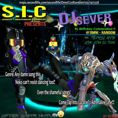 DJ Sever returns to the Decks !!